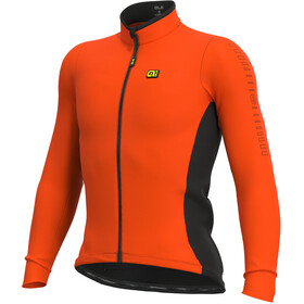 Alé Cycling Solid Fondo Longsleeve Jersey Heren, fluo orange